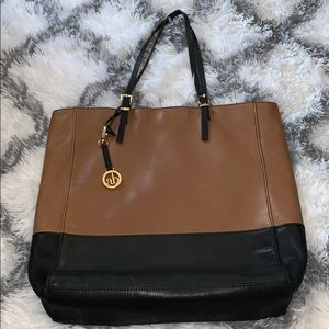 Audrey Brooke genuine leather handbag